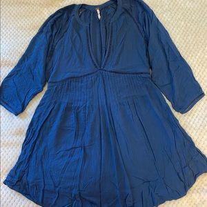 Blue mini dress/tunic